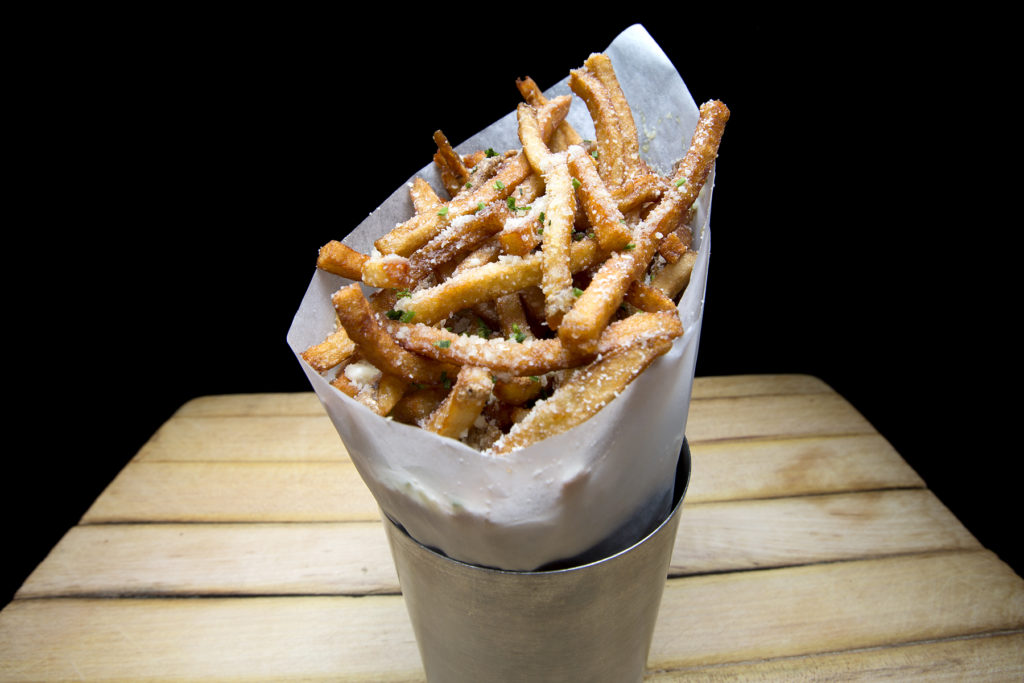 cone of french fries